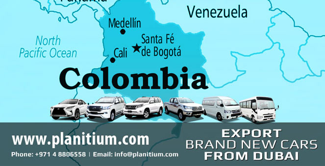 Cars export to Colombia