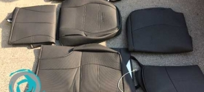 Vinyl Black Seat Cover For Hilux