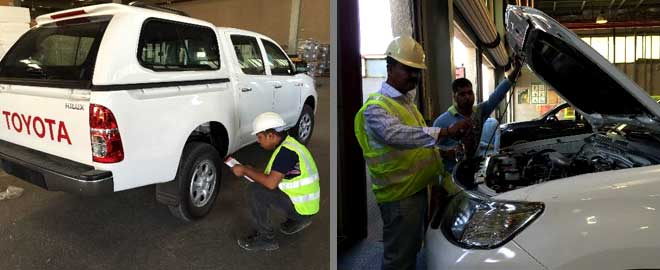 Vehicle Inspection Services Dubai