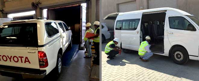 Vehicle Inspection Company Dubai