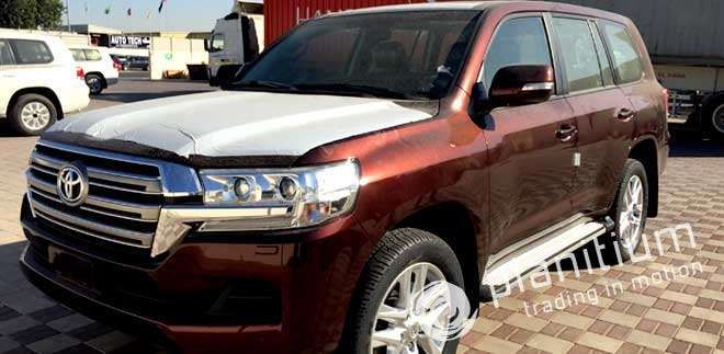 Copper Brown Toyota Land Cruiser Gxr Dsl Spl 2016 Dubai