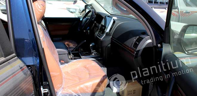 Land Cruiser 2016 with Leather Interior