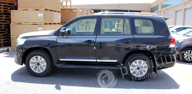 Toyota Land Cruiser 2016 Export to Africa