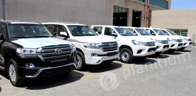 Toyota Land Cruiser 200 Exporter from Dubai