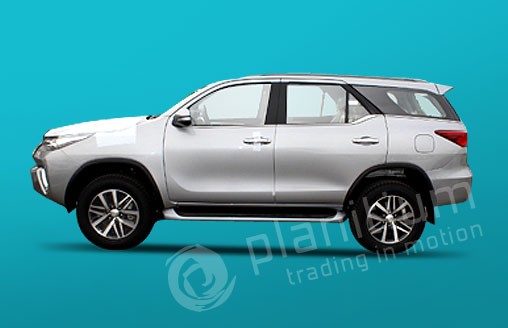Toyota Fortuner Luxury Suv 2016 Export From Dubai Africa