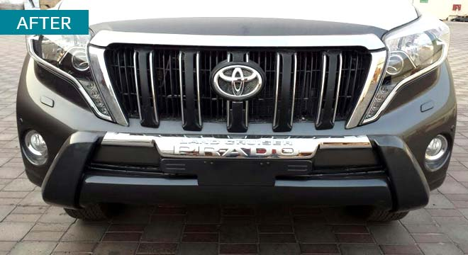 Toyota Prado Bumper Protection Fittings