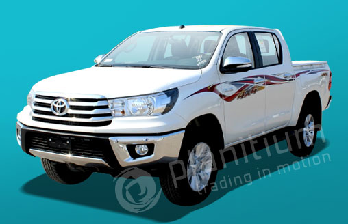Toyota Hilux Pick-ups 2017 Export from Dubai | Africa