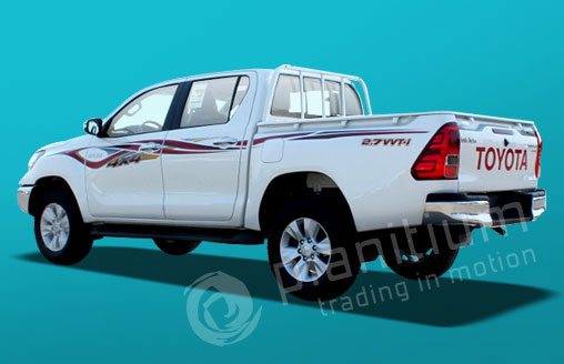 Toyota hilux pick ups 2017 export from dubai africa for Mercedes benz b0 service