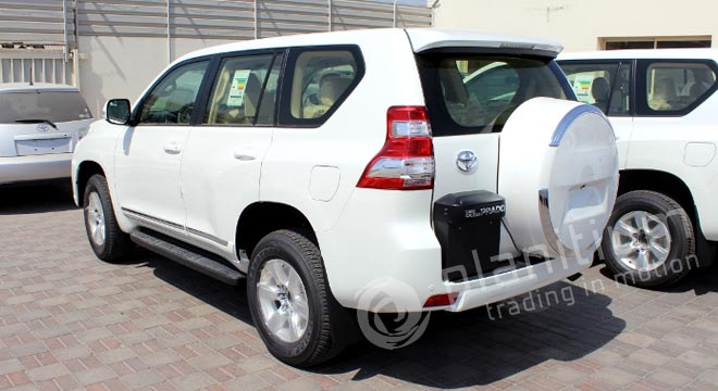 Toyota Prado Interior Fittings Dubai