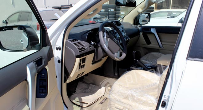 Toyota Prado Leather Conversionings Dubai