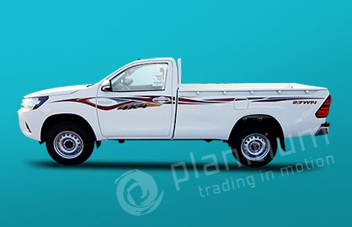 Export Toyota Hilux Gasoline 4x4 Pickups From Dubai