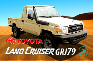Toyota Land Cruiser GRJ79 Pick-ups