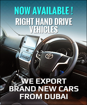 Right Hand Drive Vehicles UAE