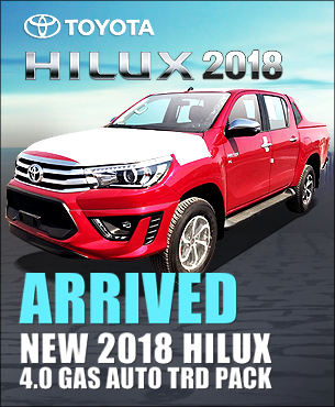 Toyota Hilux 2018 Pickups