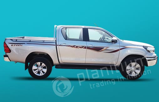 Toyota Hilux 2.7 Gasoline Double Cabin 2018 Export from UAE