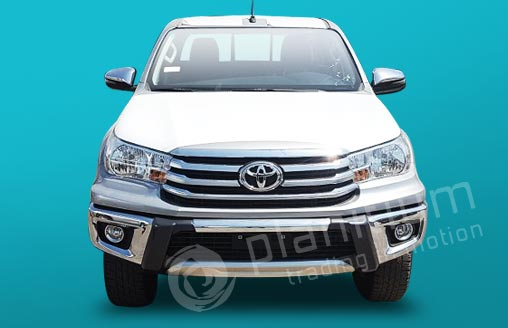 toyota hilux 2 7 gasoline double cabin 2018 export from uae