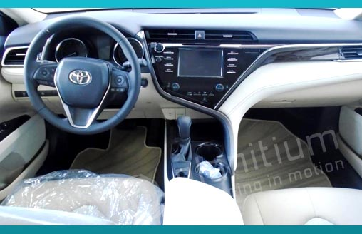 Export Toyota Camry Gasoline GLE SPL 2018 from UAE