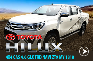 Toyota Hilux Gasoline Pickup