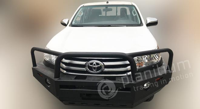 Toyota Hilux Front Bull Bar Fittings