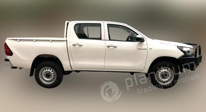 Toyota Hilux Front Bull Bar Fitting