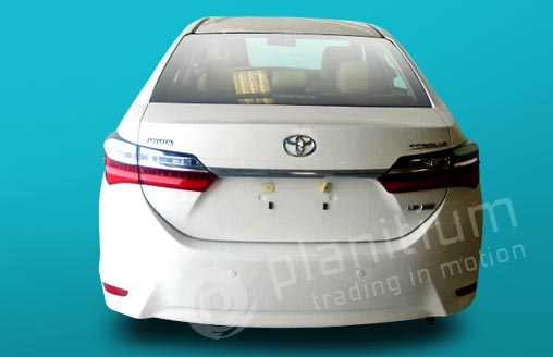 2019 Toyota Corolla Gasoline Cars Export From Dubai