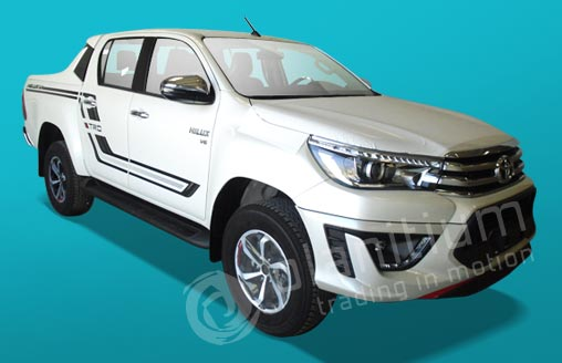 Hilux X Trd Pickups on Fuel Tank Capacity 2019 Corolla