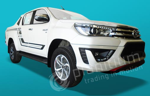 2019 Hilux 4.0 Gasoline 4X4 TRD Pickups from Dubai