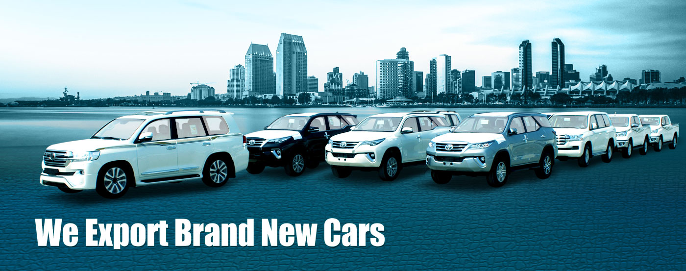 Export New Cars From Dubai