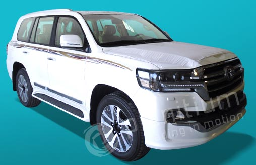 Export 2019 Toyota Land Cruiser 200 Gasoline GX-R from Dubai