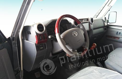 Export Toyota LC VDJ79 Double Cab 2019 Pickup from Dubai