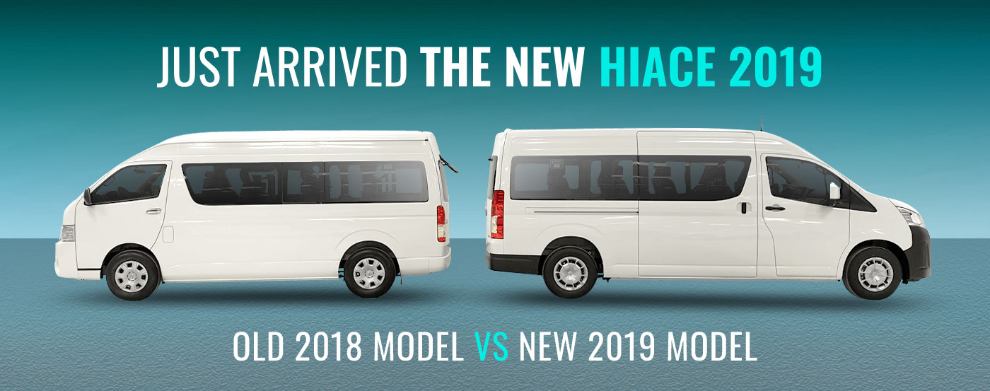 New Toyota HIACE 2019 Bus